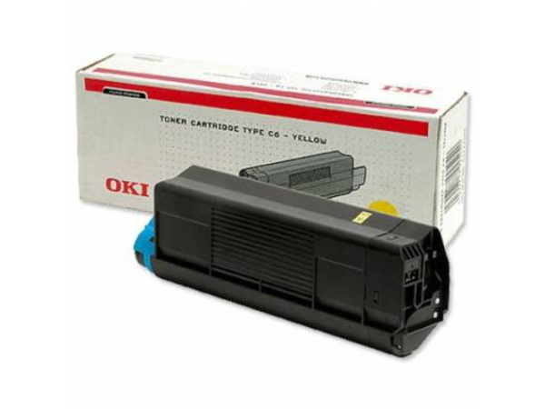OKI - Gelb - Original - Tonerpatrone - für C3200, 3200 Design, 3200n