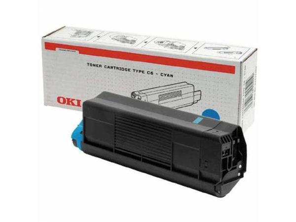 OKI - Cyan - Original - Tonerpatrone - für C3200, 3200 Design, 3200n