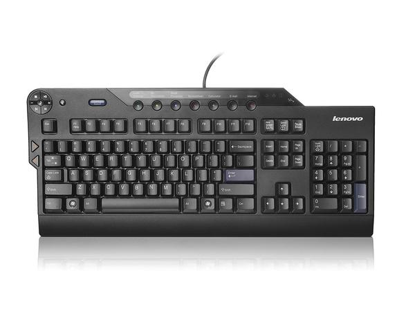 Lenovo Enhanced Performance - Tastatur - USB - US International - Business Black - für ThinkPad E47X; E57X; L470; L570; P51; T470; T570; ThinkPad Yoga 370; V510