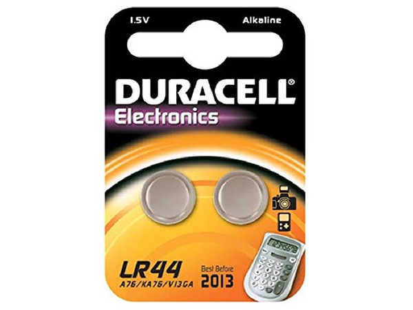Duracell Electronics LR44 - Batterie 2 x LR44 Alkalisch