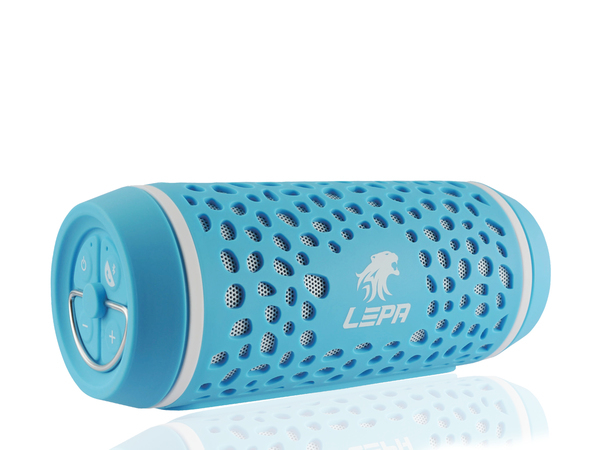 LEPA BTS02 - Lautsprecher - tragbar - 8 Watt - Blau