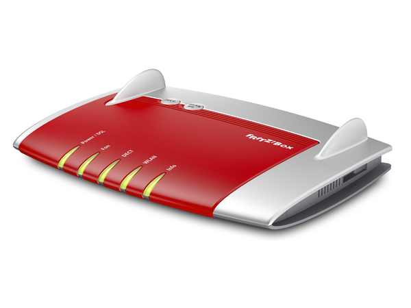 AVM FRITZ!Box 7430 - Wireless Router - DSL-Modem - 4-Port-Switch - 802.11b/g/n - 2,4 GHz