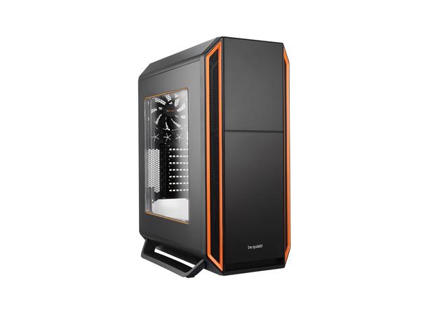 be quiet! Silent Base 800 - Window Edition - Tower - ATX - ohne Netzteil - orange