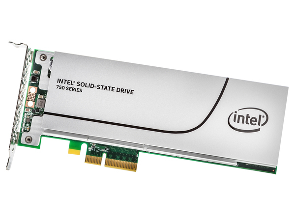 Intel Solid-State Drive 750 Series - Solid-State-Disk - 1.2 TB - intern - PCI Express 3.0 x4 (NVMe)