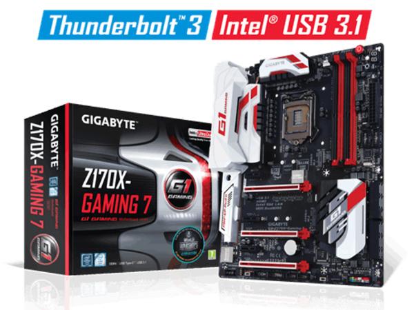 MB Gigabyte GA-Z170X-Gaming 7   (Z170,S1151,ATX,DDR4)