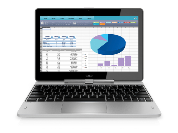 HP EliteBook Revolve 810 G3 Tablet - Konvertierbar - Core i5 5200U / 2.2 GHz - Win 10 Pro 64-Bit - 8 GB RAM - 256 GB SSD