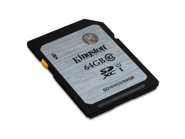Kingston - Flash-Speicherkarte - 64 GB - UHS Class 1 / Class10 - SDXC UHS-I