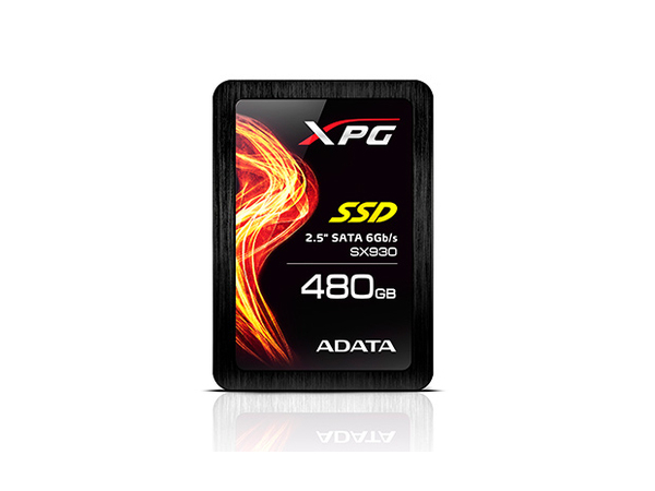 ADATA XPG SX930 Gaming - Solid-State-Disk - 480 GB - intern - 6.4 cm (2.5