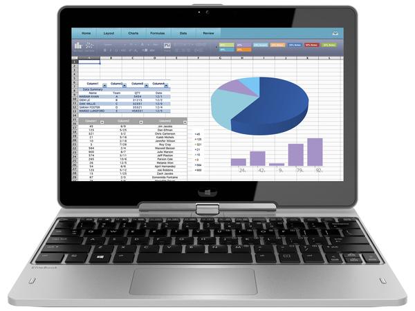 HP EliteBook Revolve 810 G3 Tablet - Konvertierbar - Core i7 5600U / 2.6 GHz - Win 10 Pro 64-Bit - 8 GB RAM - 256 GB SSD