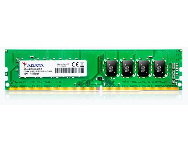 ADATA Premier Series - DDR4 - 8 GB - DIMM 288-PIN - 2133 MHz / PC4-17000 - CL15
