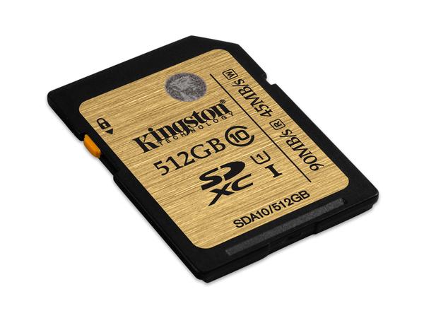 Kingston - Flash-Speicherkarte - 512 GB - UHS Class 1 / Class10 - 300x - SDXC UHS-I
