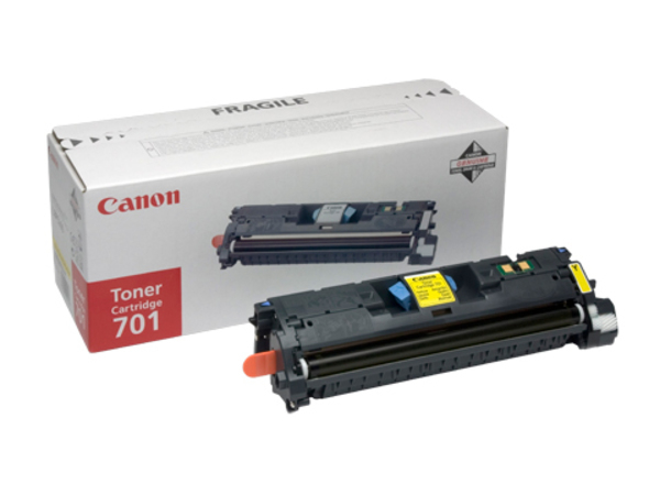 Canon 701L - Gelb - Original - Tonerpatrone - für ImageCLASS MF8180c; Laser Shot LBP-5200; LaserBase MF8180C