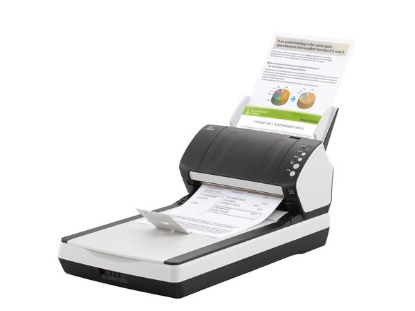 Fujitsu fi-7240 - Dokumentenscanner - Duplex - 216 x 355.6 mm - 600 dpi x 600 dpi - bis zu 40 Seiten/Min. (einfarbig) / bis zu 40 Seiten/Min. (Farbe)