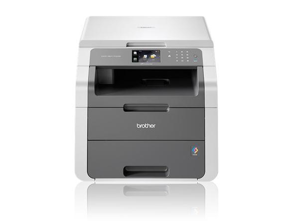 MFP DCP-9017CDW / 3in1 Colorlaser A4 / 18ppm / 2400x600dpi / 192MB / Duplex / Wlan, USB / iPrint / 3 Jahre Garantie