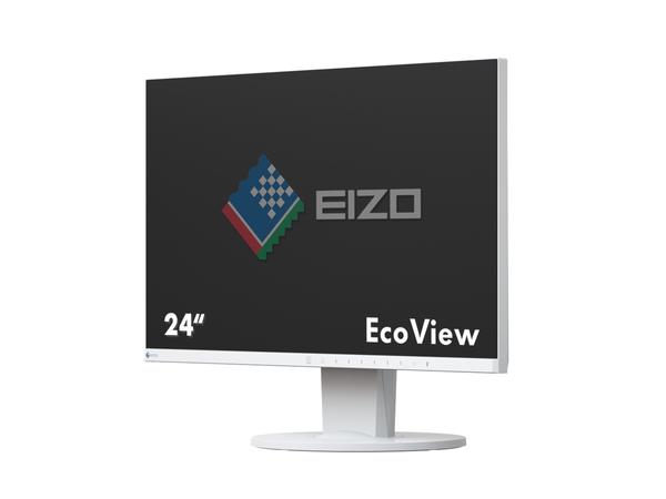 EIZO FlexScan EV2450, 60,5 cm (23.8 Zoll), 1920 x 1080 Pixel, LED, 5 ms, 250 cd/m², Weiß