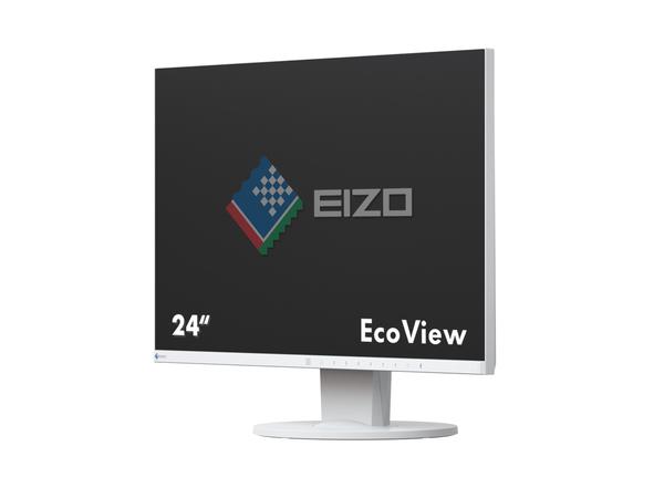 EIZO FlexScan EV2455, 61 cm (24 Zoll), 1920 x 1200 Pixel, LED, 5 ms, 300 cd/m², Weiß