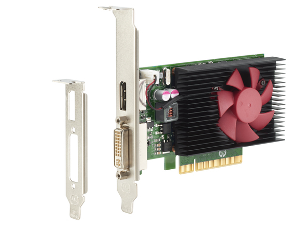 NVIDIA GeForce GT730 - Grafikkarten - GF GT 730 - 2 GB DDR3 - PCIe x8 Low Profile - DVI, DisplayPort