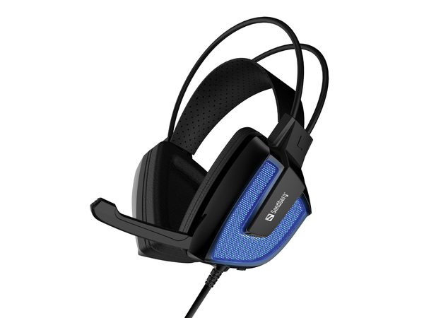 Sandberg Derecho - Headset - Full-Size - USB