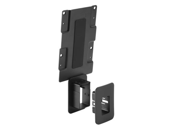 HP - Thin-Client-zu-Monitor-Halterung - Schwarz - für HP Z24, Z25, Z27; DreamColor Z32; EliteDisplay E222, E232, E240; Z Display Z27