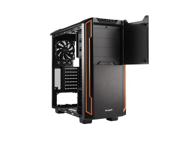 be quiet! Silent Base 600 - Tower - ATX - ohne Netzteil - orange - USB/Audio