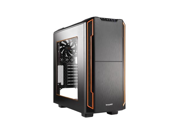 be quiet! Silent Base 600 - Window Edition - Tower - ATX - ohne Netzteil - orange