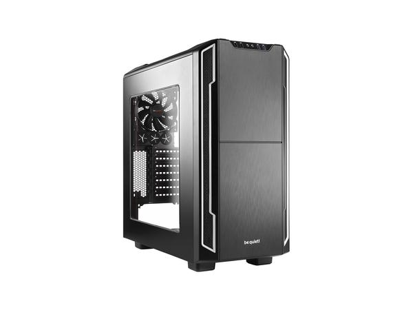 be quiet! Silent Base 600 - Window Edition - Tower - ATX - ohne Netzteil - Silber