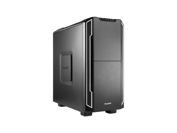 be quiet! Silent Base 600 - Tower - ATX - ohne Netzteil - Silber - USB/Audio