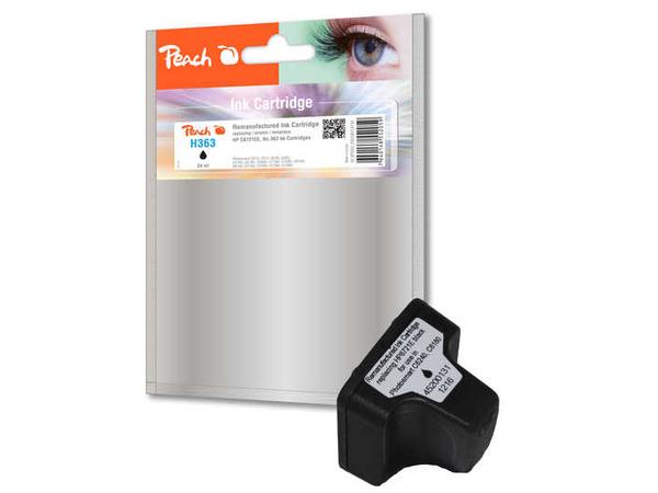Peach 314794, Schwarz, - HP PhotoSmart 3100 Series - HP PhotoSmart 3108 - HP PhotoSmart 3110 - HP PhotoSmart 3110 V -..., 17 ml, 1085 Seiten, No. 363, C8721EE