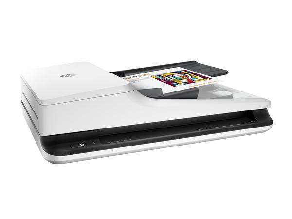 HP Scanjet Pro 2500 f1 - Dokumentenscanner - Duplex - 216 x 3100 mm - 1200 dpi x 1200 dpi - bis zu 20 Seiten/Min. (einfarbig) / bis zu 20 Seiten/Min. (Farbe)