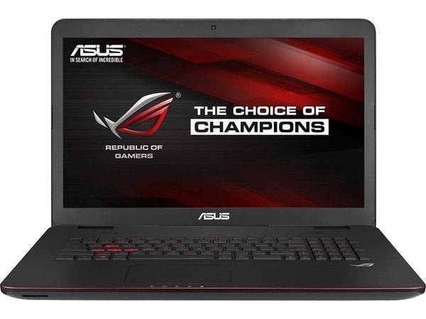 ASUS ROG GL771JW-T7082T - Core i7 4720HQ / 2.6 GHz - Win 10 Home 64-Bit - 16 GB RAM - 256 GB SSD + 1 TB HDD - DVD-Writer/Blu-ray