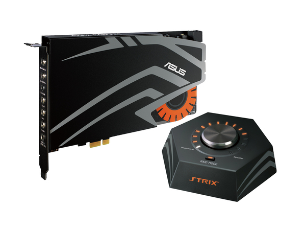 ASUS STRIX RAID PRO - Soundkarte - 24-Bit - 192 kHz - 116 dB S/N - 7.1