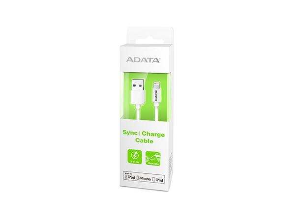 ADATA Apple Series - Lightning-Kabel - Lightning (M) bis USB (M) - 1 m - abgeschirmt - weiß