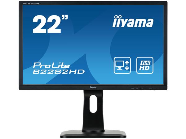 Iiyama ProLite B2282HD-B1 - LED-Monitor - 55.9 cm (22