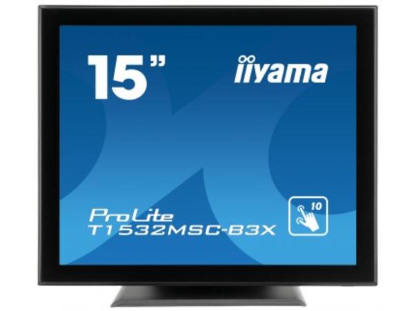 Iiyama ProLite T1532MSC-B3X - LED-Monitor - 38 cm (15