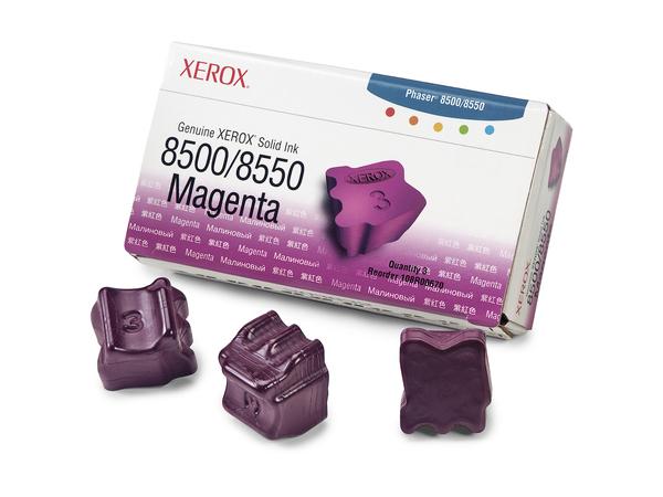 Xerox Genuine Xerox - 3 - Magenta - feste Tinten - für Phaser 8500DN, 8500N, 8550DP, 8550DT, 8550DX