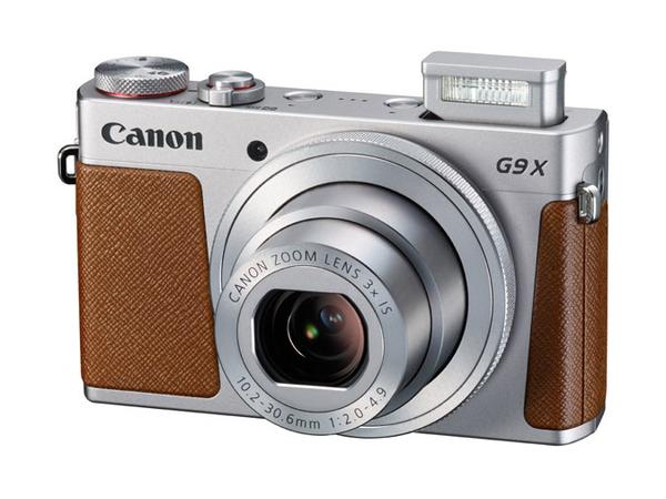 Canon PowerShot G9 X - Digitalkamera - Kompaktkamera - 20.2 MPix - 1080p / 59.94 BpS - 3x optischer Zoom