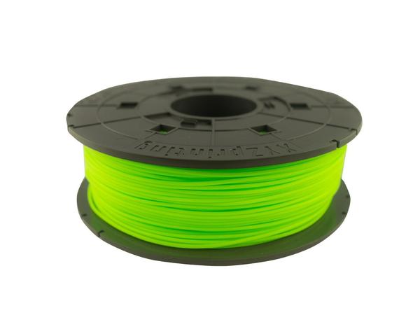 XYZprinting - Neongrün - 600 g - PLA-Filament (3D) - für da Vinci 1.0, 1.0 3D, 1.0 Aio