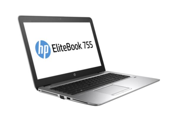 HP EliteBook 755 G3 - A12 PRO-8800B / 2.1 GHz - Win 7 Pro 64-bit (mit Win 10 Pro Lizenz) - 8 GB RAM - 256 GB SSD - 39.6 cm (15.6