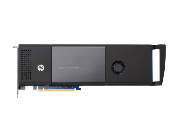 HP Z Turbo Drive Quad Pro - Solid-State-Disk - 512 GB - intern - M.2 (M.2) - PCI Express 3.0 x16