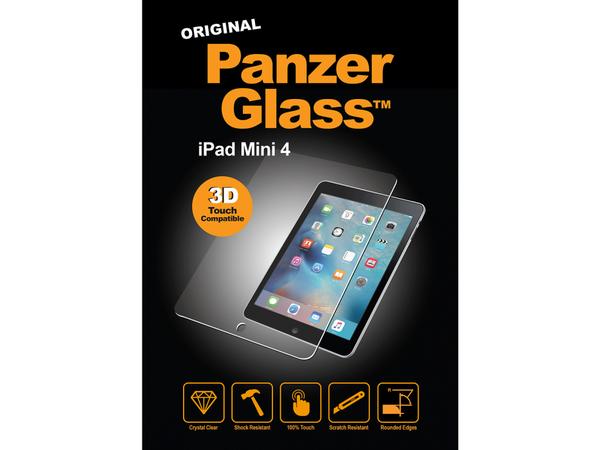 PanzerGlass Original - Bildschirmschutz - Crystal Clear - für Apple iPad mini 4