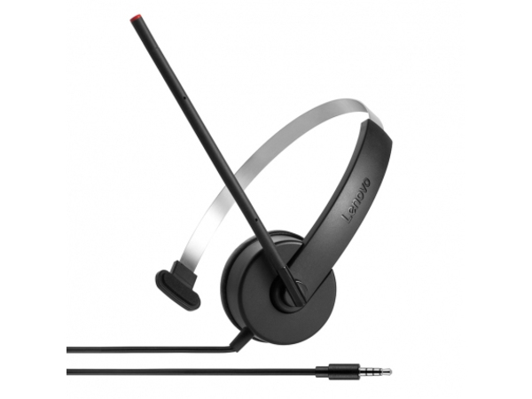 Lenovo Stereo Analog Headset - Headset - On-Ear - für Miix 510-12; ThinkPad L470; P51; T470; ThinkPad Yoga 370; V110-14; V520-15; V520S-08