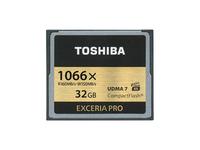 Toshiba EXCERIA PRO C501 - Flash-Speicherkarte - 32 GB - 1066x - CompactFlash