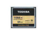 Toshiba EXCERIA PRO C501 - Flash-Speicherkarte - 64 GB - 1066x - CompactFlash