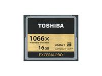 Toshiba EXCERIA PRO C501 - Flash-Speicherkarte - 16 GB - 1066x - CompactFlash