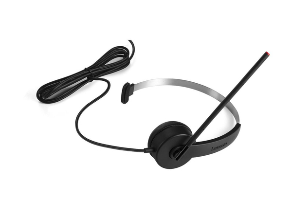 Lenovo Mono USB Headset - Headset - On-Ear - für ThinkCentre M715; M900; ThinkPad E47X; E57X; L470; P51; T470; T570; V520-15; V520S-08