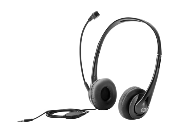 HP - Headset - On-Ear - Black Jack - für EliteBook; ProBook 645 G2; x2