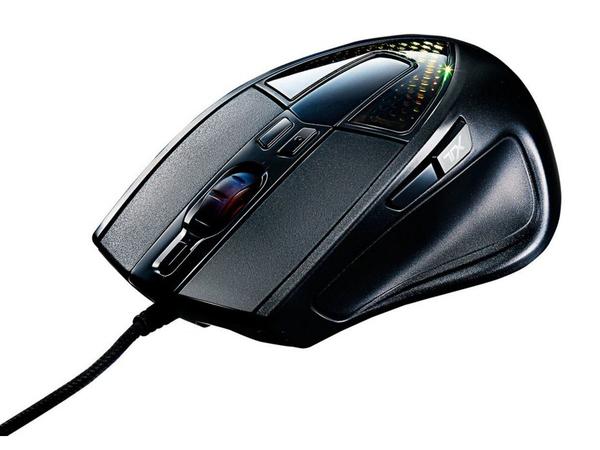 Cooler Master Sentinel III - Maus - optisch - 8 Tasten - verkabelt - USB