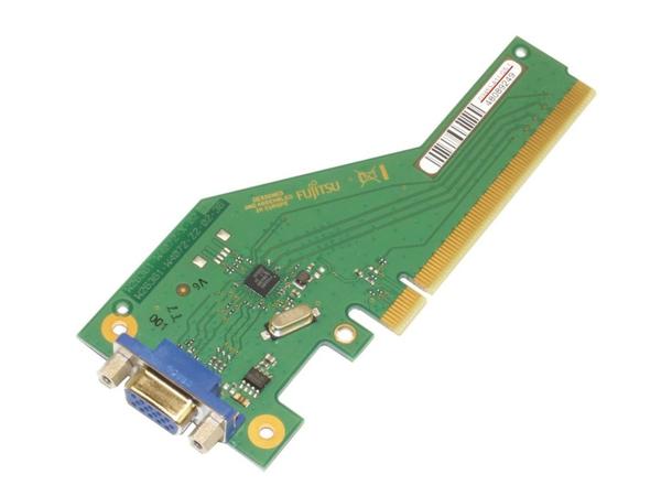 Fujitsu - Zusätzliche Schnittstellenplatine - PCIe x4 - VGA - für ESPRIMO P556, P556/2/, PH556