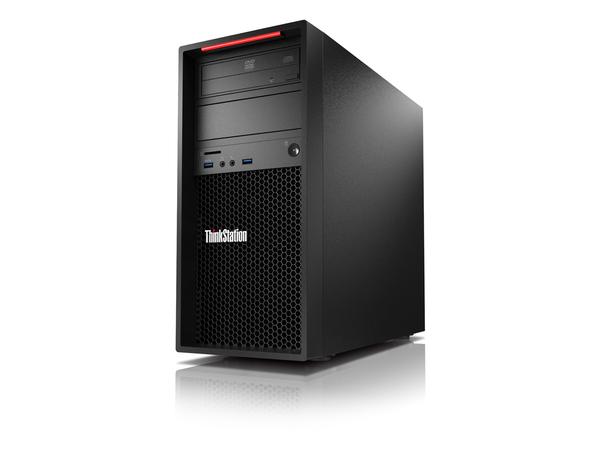 Lenovo ThinkStation P310 30AT - Tower - 1 x Xeon E3-1275V5 / 3.6 GHz - RAM 8 GB - SSD 256 GB - TCG Opal Encryption