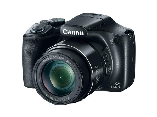 Canon PowerShot SX540 HS - Digitalkamera - Kompaktkamera - 20.3 MPix - 1080p / 60 BpS - 50x optischer Zoom